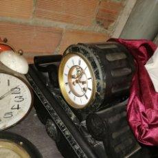 Relojes de carga manual: ANTIGUO RELOJ NOTARIO MÁRMOL ESCAPE VISTO SIGLO XIX. Lote 174076823