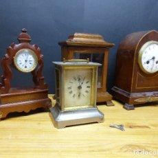 Relojes de carga manual: - LOTE, ANTIGUOS RELOJES VARIOS TIPOS, VER FOTOGRAFIAS Y DESCRIPCION. Lote 174866032
