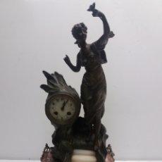 Relojes de carga manual: RELOJ DE SOBREMESA MODERNISTA. Lote 175005433