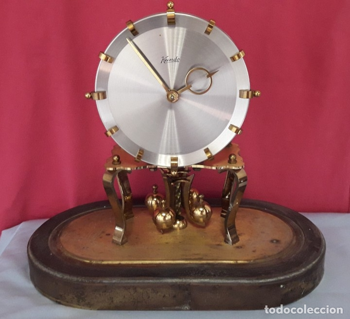 Relojes de carga manual: RELOJ ALEMAN DE BOLAS. KUNDO KIENINGER OBERGFELL DE CUERDA MANUAL - Foto 2 - 175291884