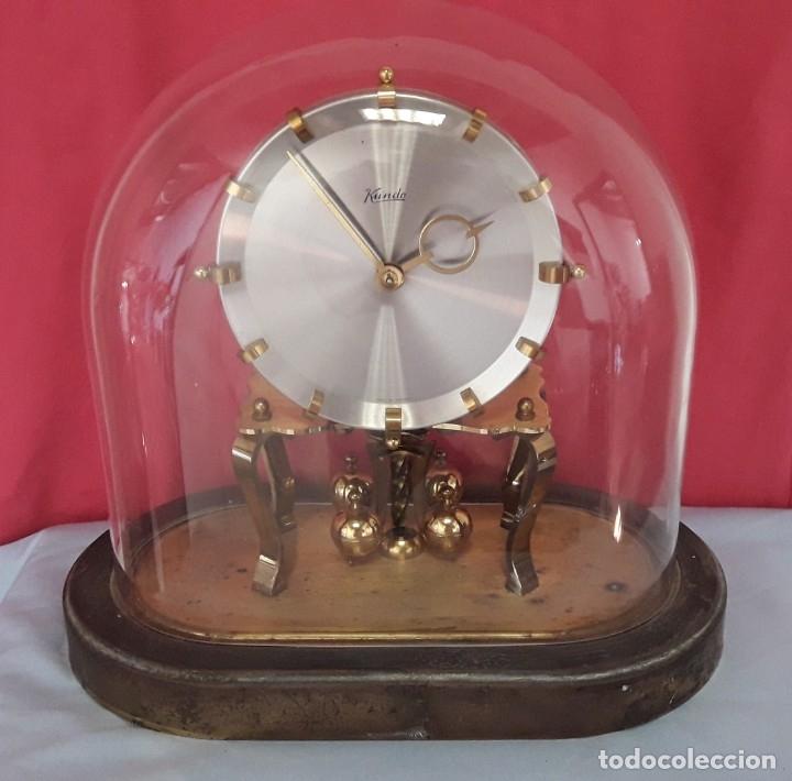 Relojes de carga manual: RELOJ ALEMAN DE BOLAS. KUNDO KIENINGER OBERGFELL DE CUERDA MANUAL - Foto 3 - 175291884