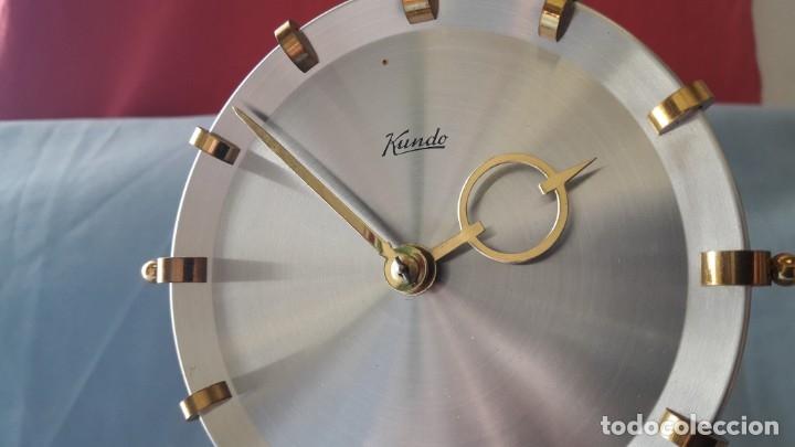 Relojes de carga manual: RELOJ ALEMAN DE BOLAS. KUNDO KIENINGER OBERGFELL DE CUERDA MANUAL - Foto 5 - 175291884