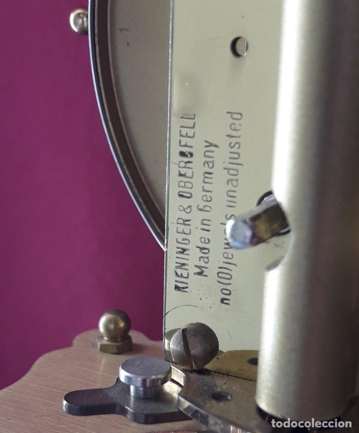 Relojes de carga manual: RELOJ ALEMAN DE BOLAS. KUNDO KIENINGER OBERGFELL DE CUERDA MANUAL - Foto 13 - 175291884