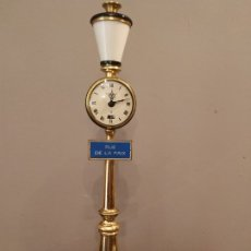 Relojes de carga manual: JAEGER RELOJ CON ALARMA - LECOUTRE - RUE DE LA PAIX - DIFICIL EN DORADO. Lote 175404627