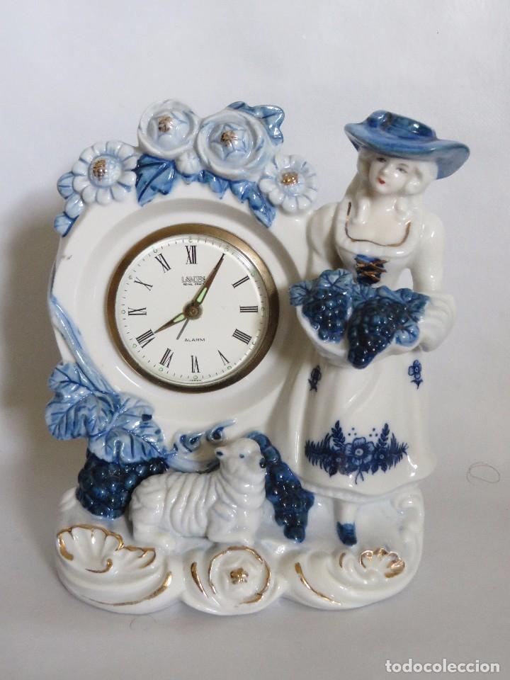RELOJ SOBREMESA LANDEX ROYAL CRAFT (Relojes - Sobremesa Carga Manual)