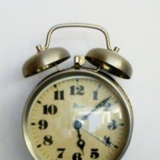 Relojes de carga manual: RELOJ DESPERTADOR DE SOBREMESA . Lote 175799685