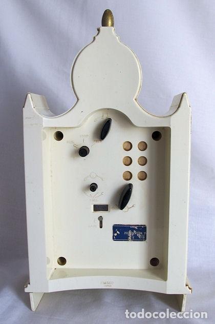 Relojes de carga manual: RELOJ SEIKO DE CUERDA VINTAGE GRANDE DE SOBREMESA MUSICAL - Foto 2 - 176344815