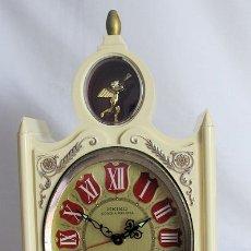 Relojes de carga manual: RELOJ SEIKO DE CUERDA VINTAGE GRANDE DE SOBREMESA MUSICAL. Lote 176344815