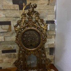 Relojes de carga manual: RELOJ DE MESA DE BRONCE. Lote 176509137
