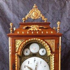 Relojes de carga manual: RELOJ - JOSEPH HENTZIER WIEN - MADERA - MEDIADOS DEL SIGLO XVIII. Lote 176703955