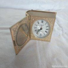 Relojes de carga manual: RELOJ DE VIAJE CON SOPORTE PARA FOTOS.. Lote 176711914