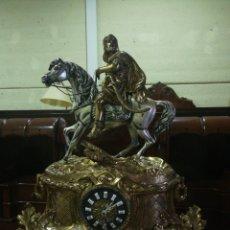 Relojes de carga manual: GRAN RELOJ BRONCE SOBREMESA. Lote 176795012