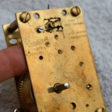 Relojes de carga manual: ANTIGUA MAQUINARIA RELOJ PENDULO - CÚPULA - 400 DIAS KIENINGER & OBERGFELL - KUNDO 50,S. Lote 177141720