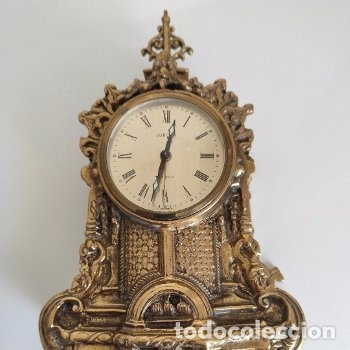 RELOJ DE CARGA MANUAL ALEMAN.EUROPA.2 RUBIS (Relojes - Sobremesa Carga Manual)
