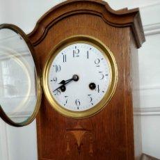 Relojes de carga manual: RELOJ JUNGHANS MADERA CON SONERIA SOBREMESA. Lote 177746247