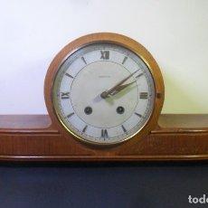 Relojes de carga manual: RELOJ SEMICARRILLON DE SOBREMESA / CHIMENEA - JUNGHANS - FUNCIONA. Lote 177842500