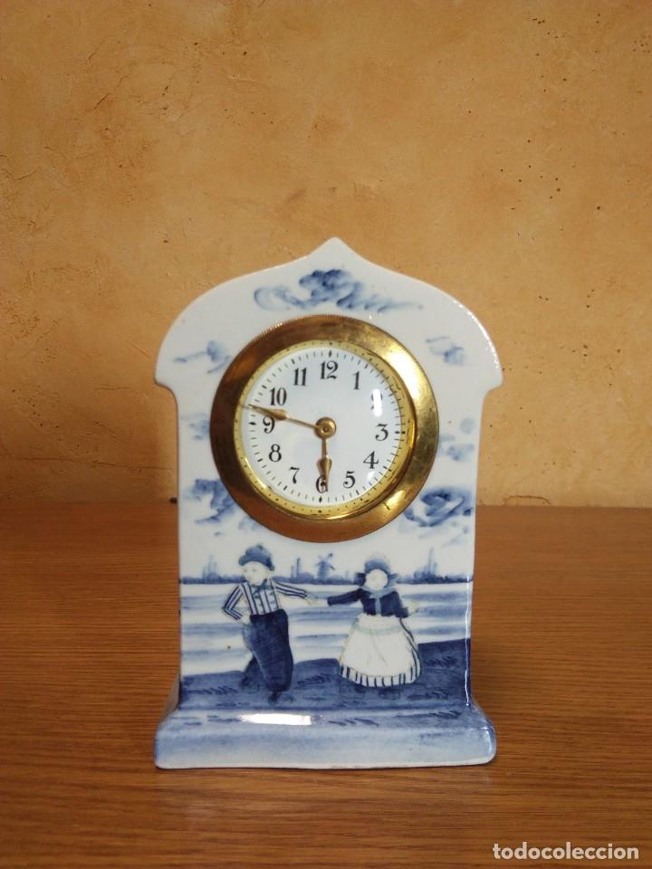 Relojes de carga manual: Reloj en porcelana - Foto 2 - 178333025