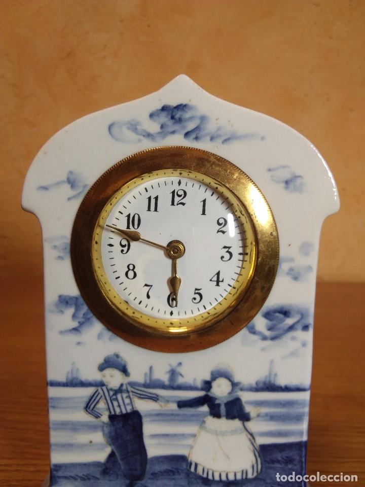 Relojes de carga manual: Reloj en porcelana - Foto 3 - 178333025