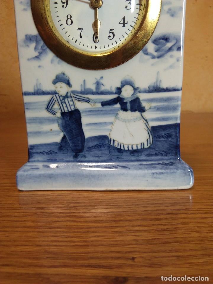 Relojes de carga manual: Reloj en porcelana - Foto 4 - 178333025