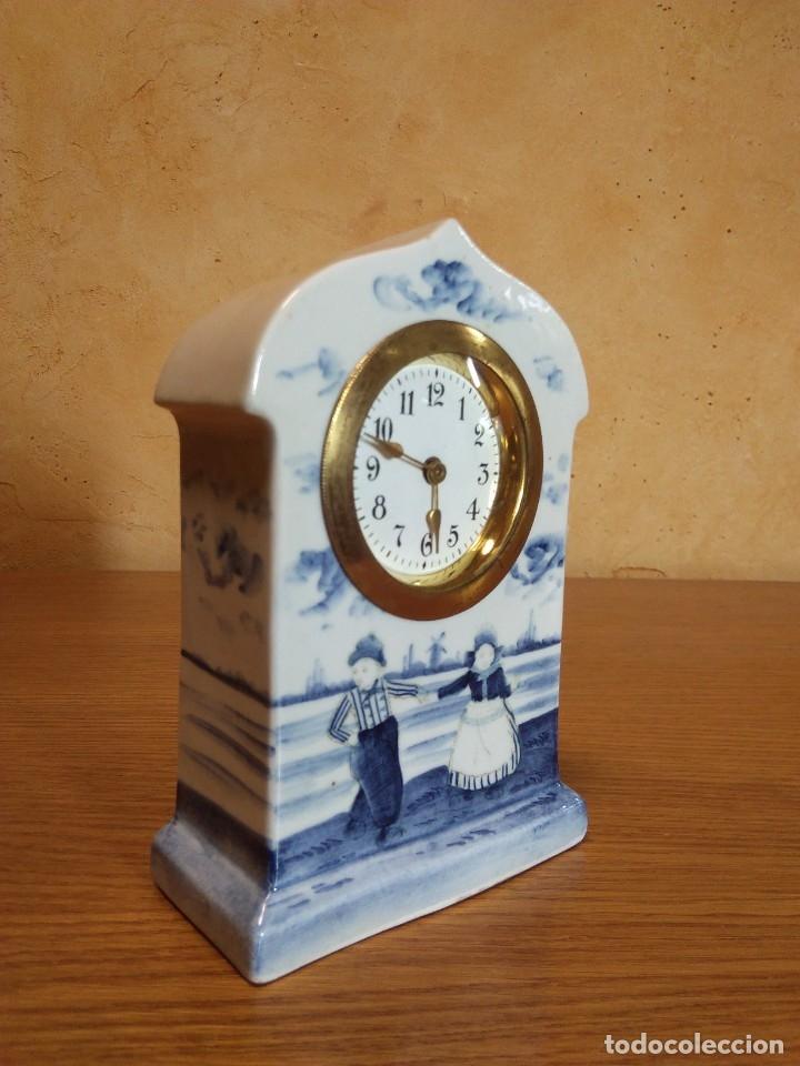 Relojes de carga manual: Reloj en porcelana - Foto 5 - 178333025