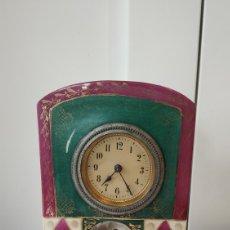 Relojes de carga manual: RELOJ ANTIGUO VIENA. RELOJ PORCELANA CENTROEUROPA. RELOJ ANTIGUO DE COLECCIÓN.. Lote 178340900