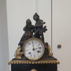 Relojes de carga manual: RELOJ SOBREMESA BRONCE. RELOJ GORINI PARÍS. ANTIQUE BRONZE CLOCK.. Lote 178650710