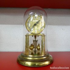 Relojes de carga manual: RELOJ DE SOBREMESA - SCHATZ - PÉNDULO DE BOLAS - CÚPULA DE CRISTAL. Lote 179012907
