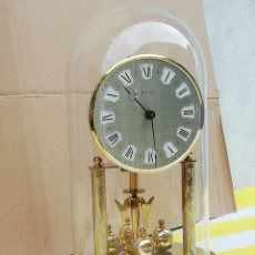 Relojes de carga manual: ANTIGUO RELOJ DE TORSIÓN SYLVOZ BASE DE BRONCE CON CÚPULA DE CRISTAL. Lote 179333533