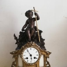 Relojes de carga manual: IMPRESIONANTE RELOJ DE PARÍS SIGLO XIX SAN JUANITO. Lote 179333650