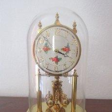 Relojes de carga manual: ANTIGUO RELOJ MESA MECÁNICO ALEMÁN DE CUERDA QUE DURA 400 DÍAS AÑOS 40 - 50 MARCA KUNDO Y FUNCIONA. Lote 180019278