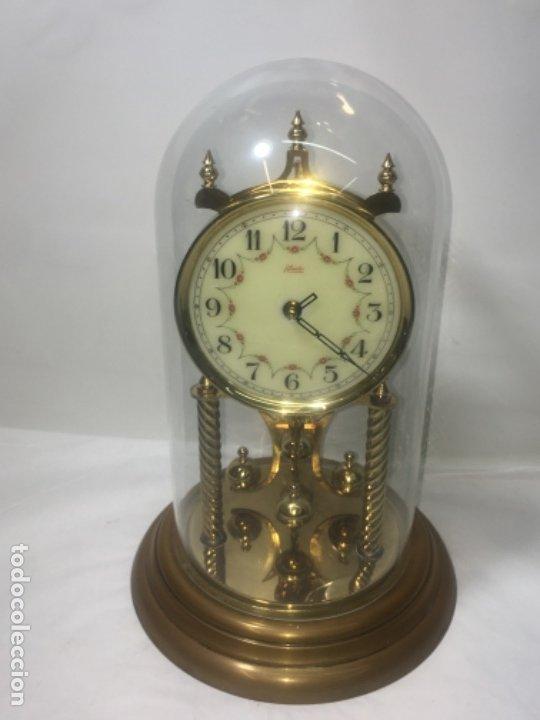 Relojes de carga manual: Reloj de sobremesa con su fanal Original - Foto 23 - 180097963