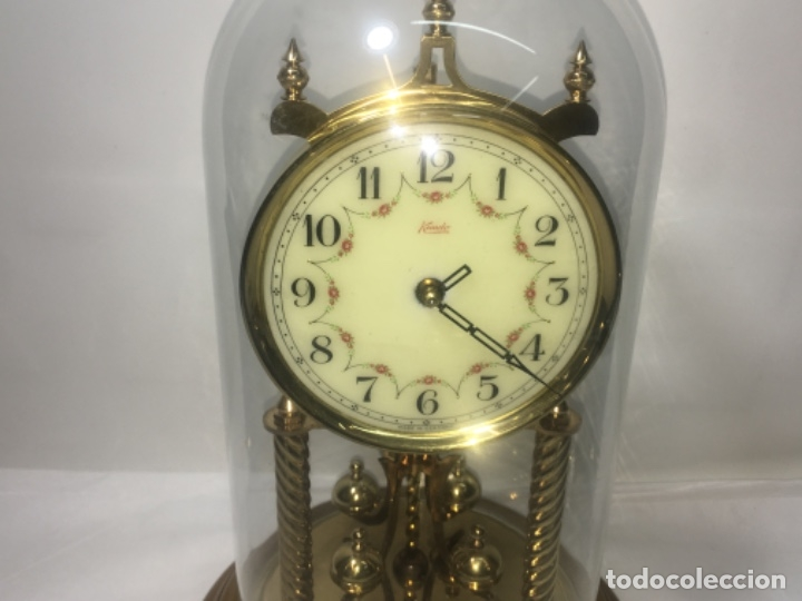 Relojes de carga manual: Reloj de sobremesa con su fanal Original - Foto 2 - 180097963