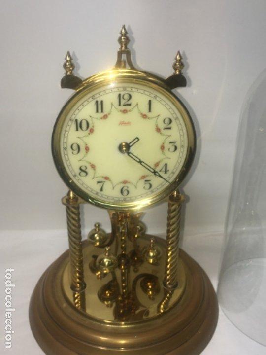 Relojes de carga manual: Reloj de sobremesa con su fanal Original - Foto 6 - 180097963