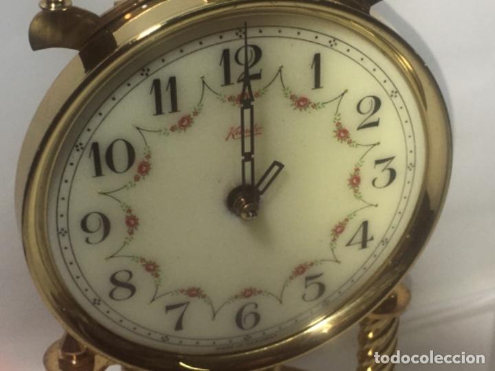 Relojes de carga manual: Reloj de sobremesa con su fanal Original - Foto 8 - 180097963