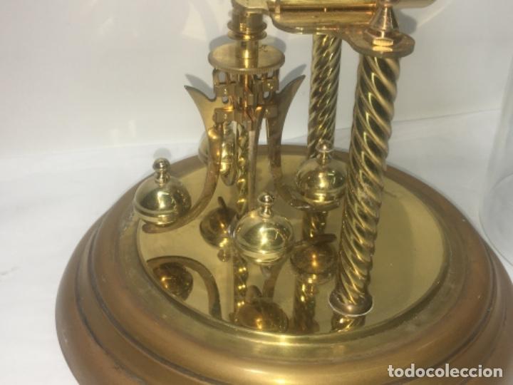 Relojes de carga manual: Reloj de sobremesa con su fanal Original - Foto 12 - 180097963