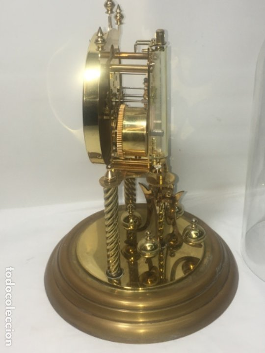 Relojes de carga manual: Reloj de sobremesa con su fanal Original - Foto 17 - 180097963