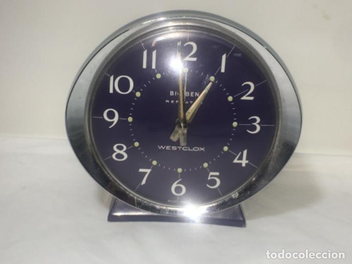 RELOJ DESPERTADOR DE SOBREMESA ORIGINAL (Relojes - Sobremesa Carga Manual)