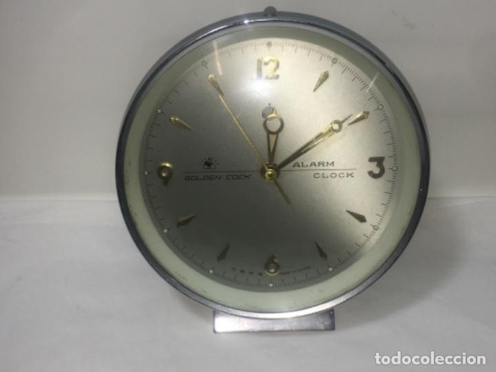 Relojes de carga manual: Reloj despertador de sobremesa Original - Foto 6 - 180099138