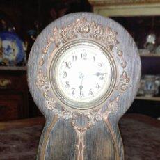 Relojes de carga manual: RELOJ DESPERTADOR MODERNISTA. Lote 180156400