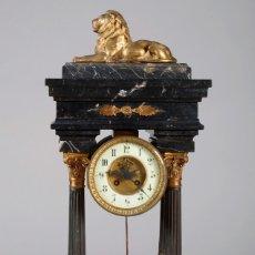 Relojes de carga manual: ANTIGUO RELOJ DE SOBREMESA DE PÓRTICO ESTILO NAPOLEÓN III. Lote 180447782