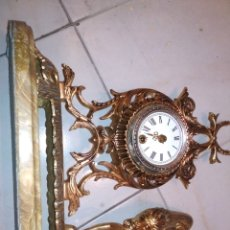 Relojes de carga manual: RELOJ BRONCE SOBREMESA. Lote 180475713