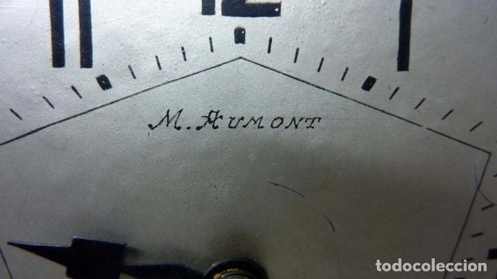 Relojes de carga manual: RELOJ MARMOL, METAL ART DECO - Foto 4 - 181401882