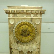 Relojes de carga manual: RELOJ ALABASTRO . Lote 181404815