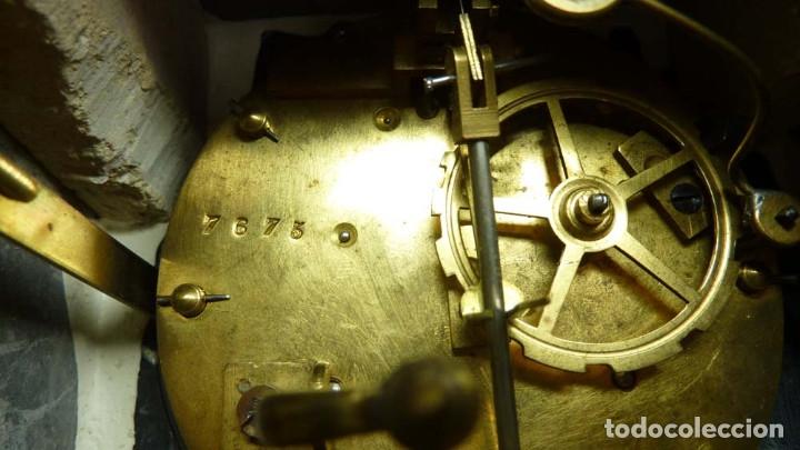Relojes de carga manual: RELOJ MARMOL, METAL ART DECO - Foto 14 - 181401882