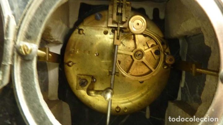 Relojes de carga manual: RELOJ MARMOL, METAL ART DECO - Foto 16 - 181401882