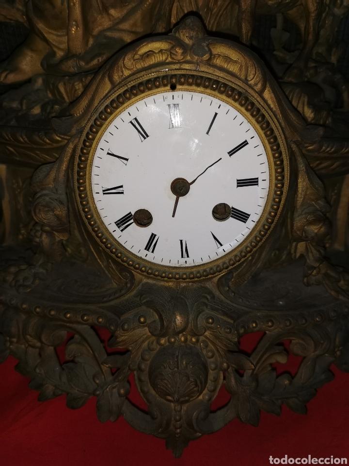 Relojes de carga manual: Reloj francés sobremesa. Siglo XIX. París. Vassy - Foto 5 - 181723303