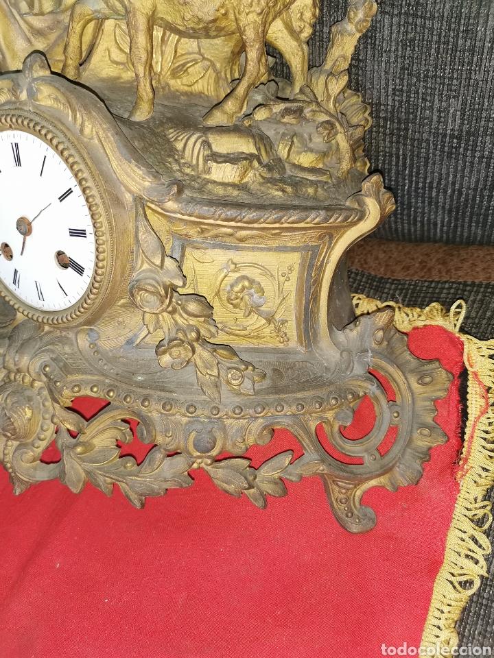 Relojes de carga manual: Reloj francés sobremesa. Siglo XIX. París. Vassy - Foto 6 - 181723303