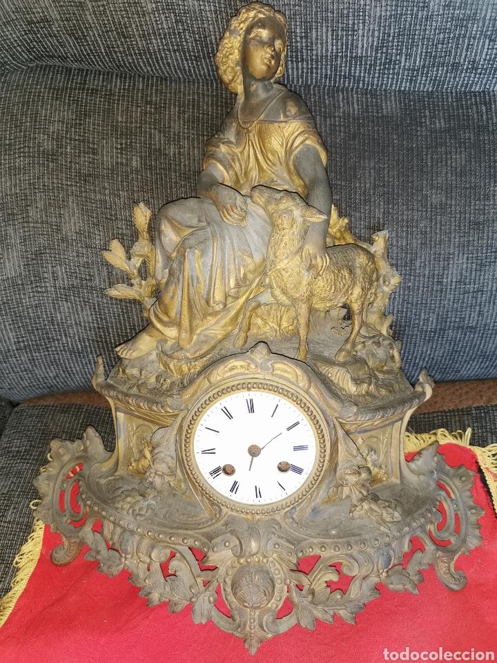 RELOJ FRANCÉS SOBREMESA. SIGLO XIX. PARÍS. VASSY (Relojes - Sobremesa Carga Manual)