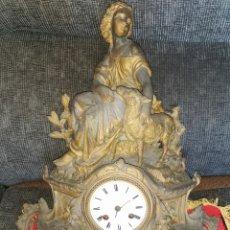 Relojes de carga manual: RELOJ FRANCÉS SOBREMESA. SIGLO XIX. PARÍS. VASSY. Lote 181723303