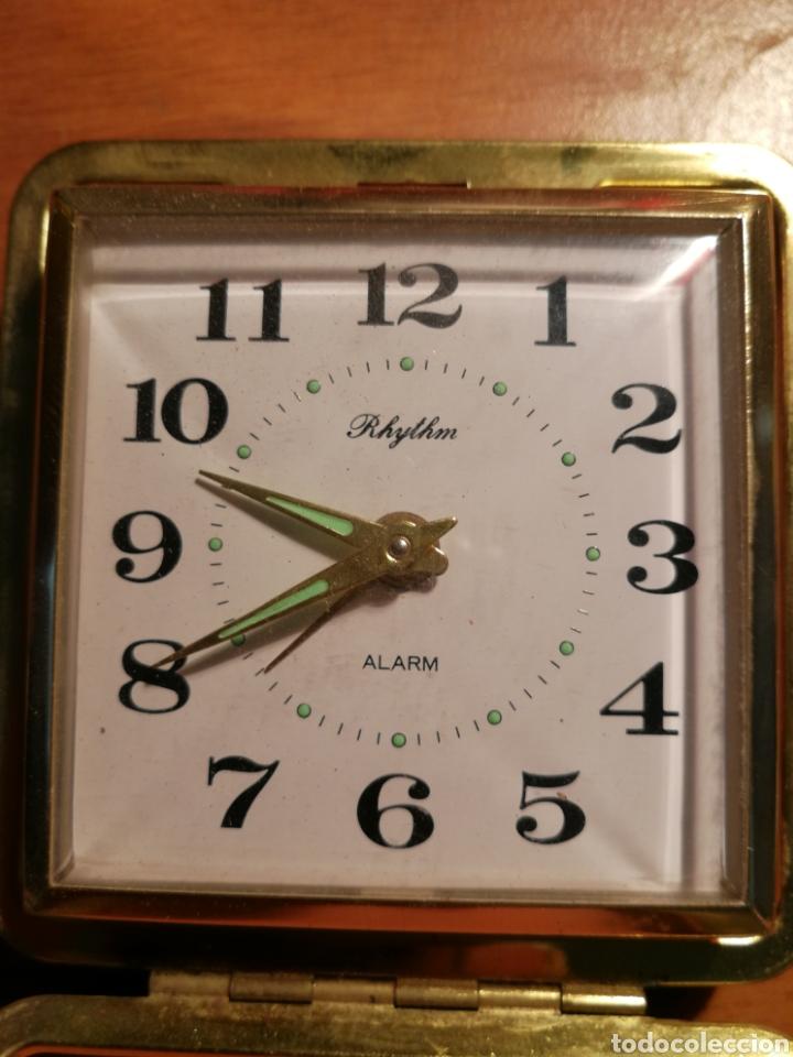 Relojes de carga manual: Reloj despertador rhythm - Foto 4 - 181984853